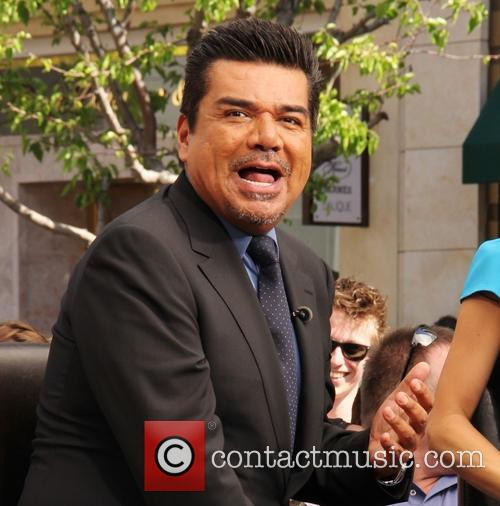 george lopez tv extra celebs filming 3666106