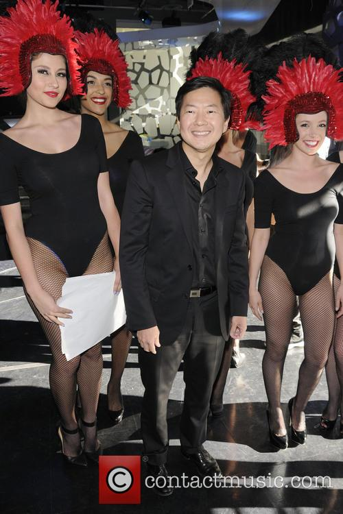 Ken Jeong appears on Much Music's NEW.MUSIC.LIVE television...