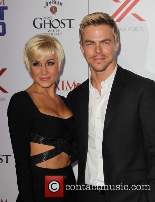 Kellie Pickler, Derek Hough, Maxim Hot 100 Party