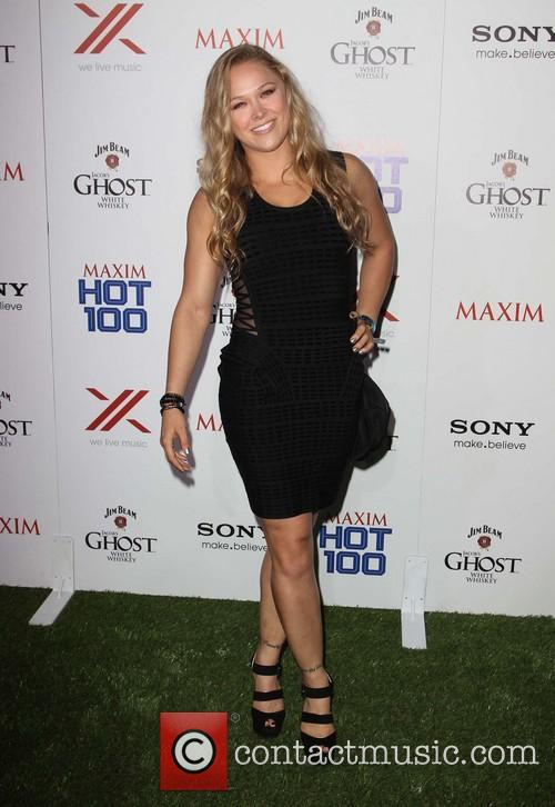 ronda rousey maxim hot 100 party 3666385