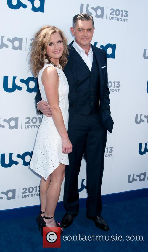 Maggie Lawson and Timothy Omundson 1