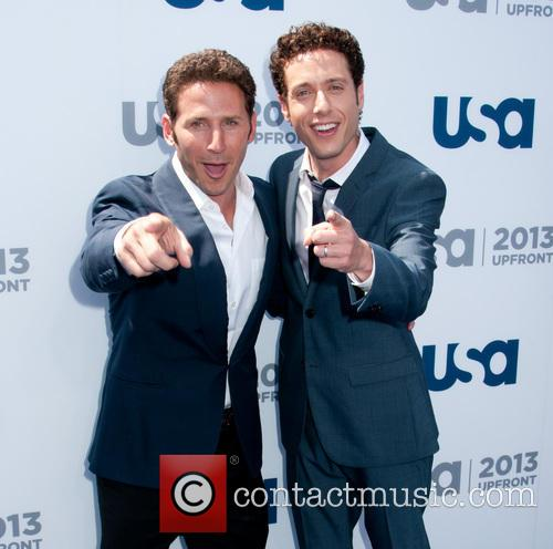 Mark Feuerstein and Paulo Costanzo