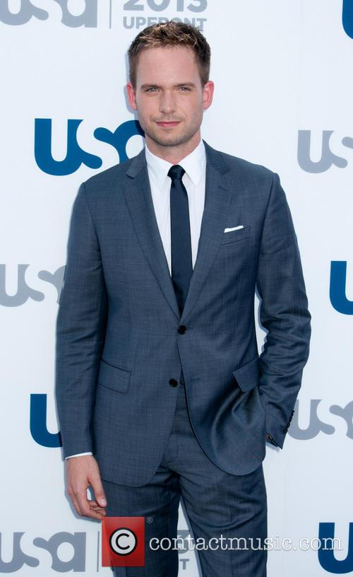 patrick adams 2013 usa network upfronts held 3669193