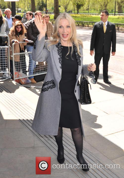 Celebrities arrive at the Criterion Restaurant on Piccadilly...