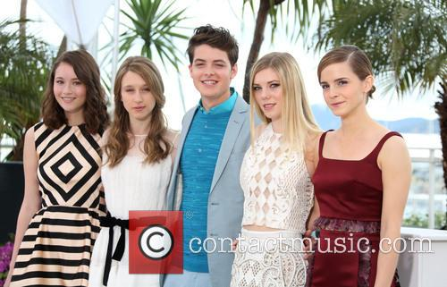 Katie Chang, Taissa Fariga, Israel Broussard, Claire Julien and Emma Watson 2
