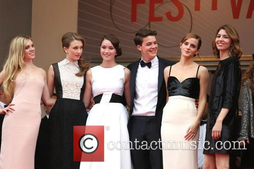 Katie Chang, Taissa Fariga, Israel Broussard, Claire Julien, Emma Watson and Sofia Coppola 1