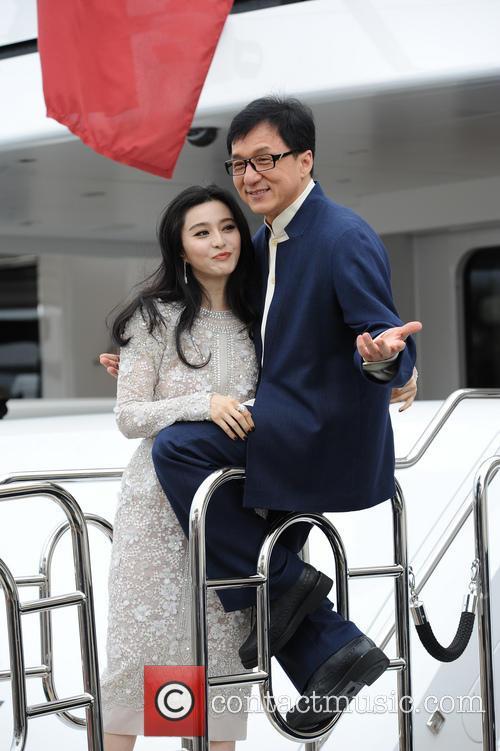 Fan Bingbing and Jackie Chan 2