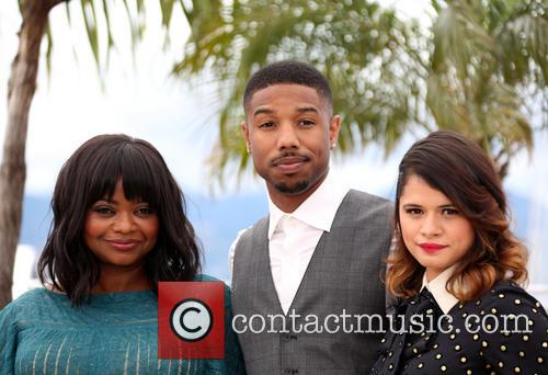 Octavia Spencer, Michael B. Jordan and Melonie Diaz 3
