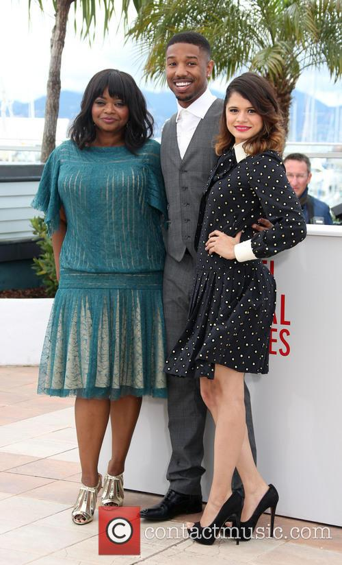 Octavia Spencer, Michael B. Jordan and Melonie Diaz 8