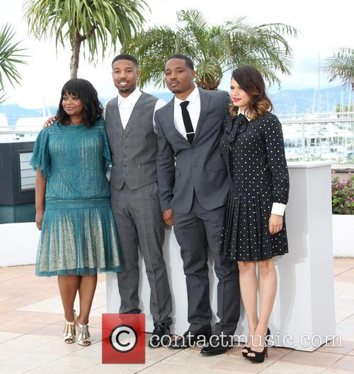 Octavia Spencer, Michael B. Jordan, Ryan Coogler and Melonie Diaz 4