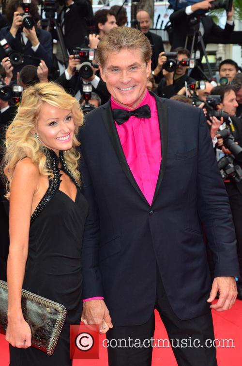 David Hasselhoff and Hayley Roberts 3