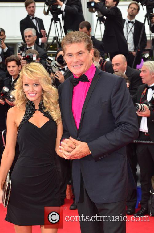 david hasselhoff hayley roberts 66th cannes film festival 3667130