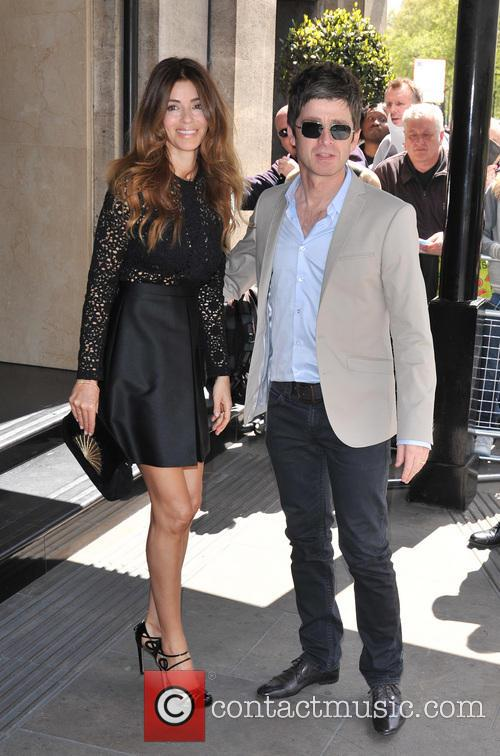 Noel Gallagher and Sara Macdonald 1