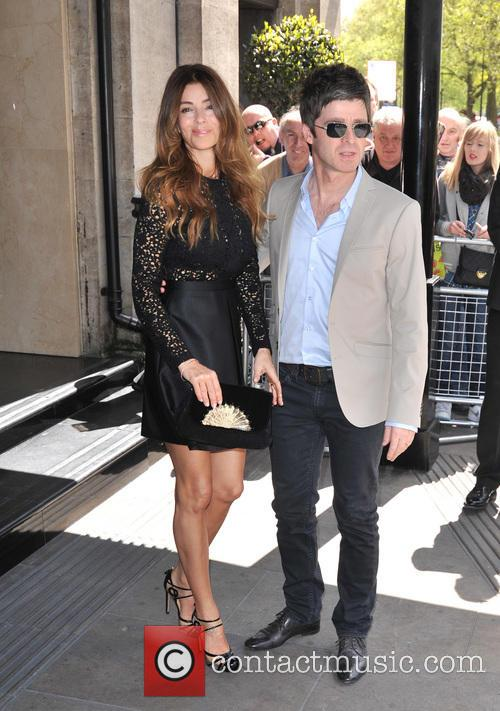 Noel Gallagher and Sara Macdonald 7