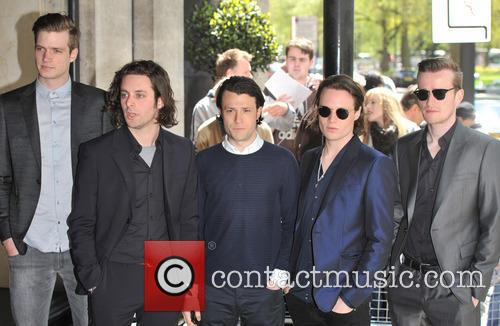 The Maccabees, Orlando Weeks, Felix White, Rupert Jarvis, Hugo White and Ivor Novello 2