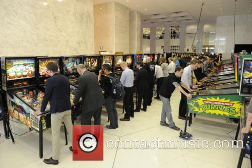 Pinballapalooza held at First Canadian Place