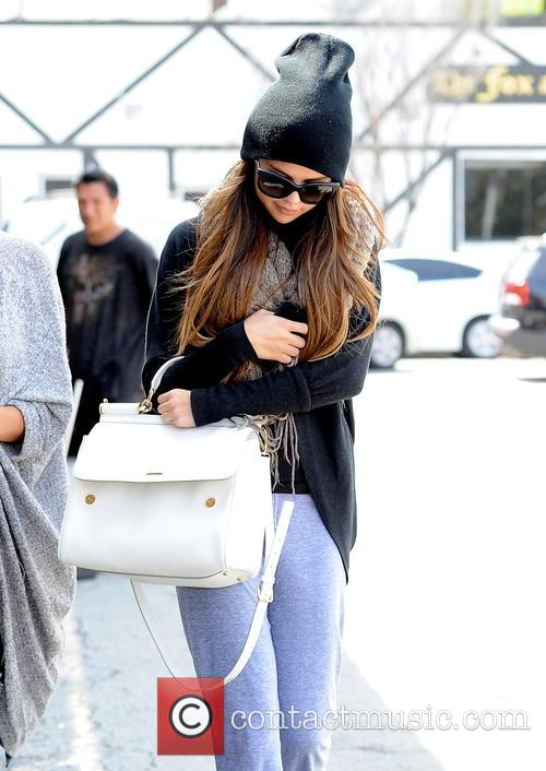 Selena Gomez heads for lunch