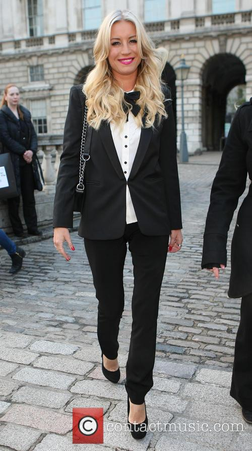 Celebrities outside Somerset House