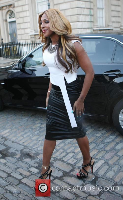 alexandra burke celebrities outside somerset house 3667137