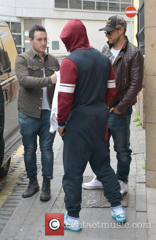 antony costa simon webbe duncan james blue celebrities at the 3666786