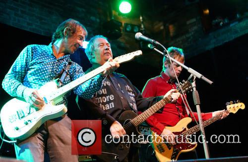Steve Diggle, Pete Shelley and Chris Remmington 4