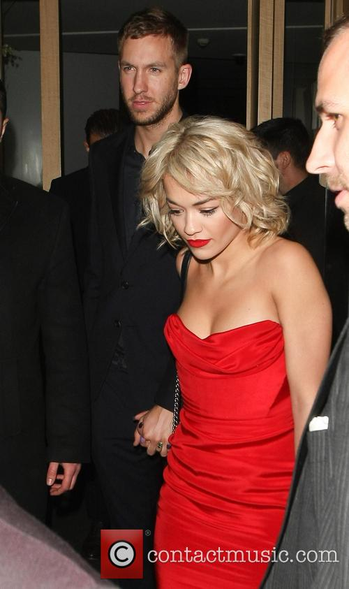 Rita Ora and Calvin Harris 8