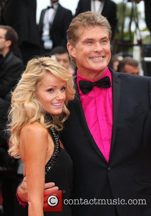 Hayley Roberts and David Hasselhoff 1