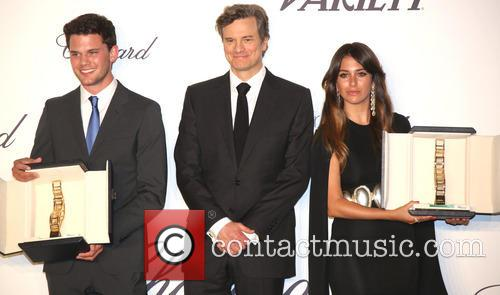 Jeremy Irvine, Colin Firth and Blanca Suarez 4