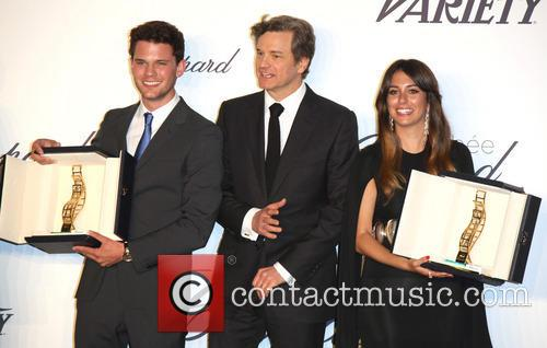 Jeremy Irvine, Colin Firth and Blanca Suarez 5