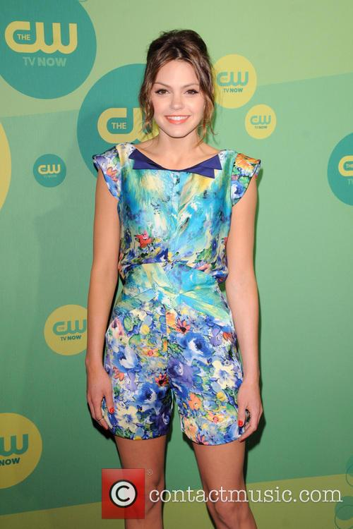 aimee teegarden 2013 cw upfront presentation  3669477