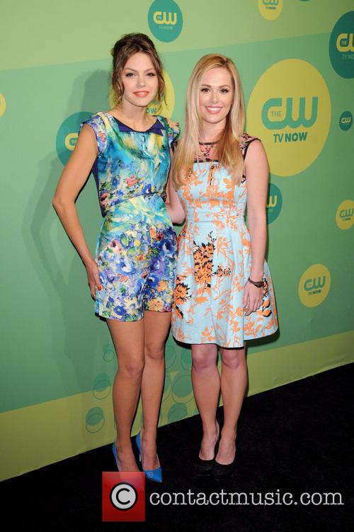 Aimee Teegarden and Natalie Hall