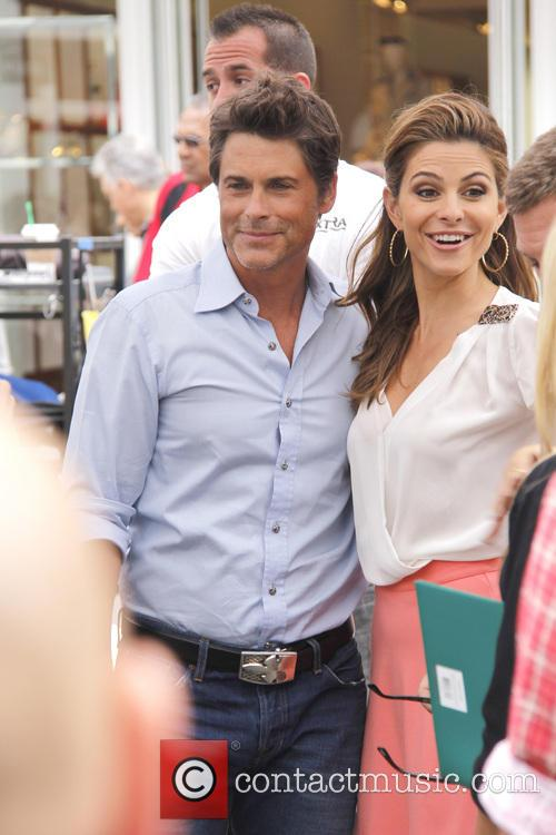 Rob Lowe and Maria Menounos 3