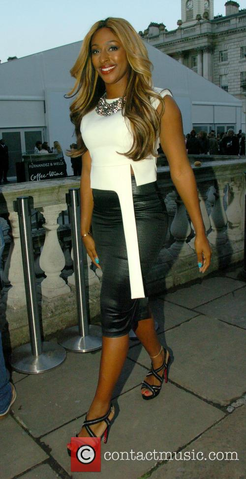 Alexandra Burke,  london, Somerset House