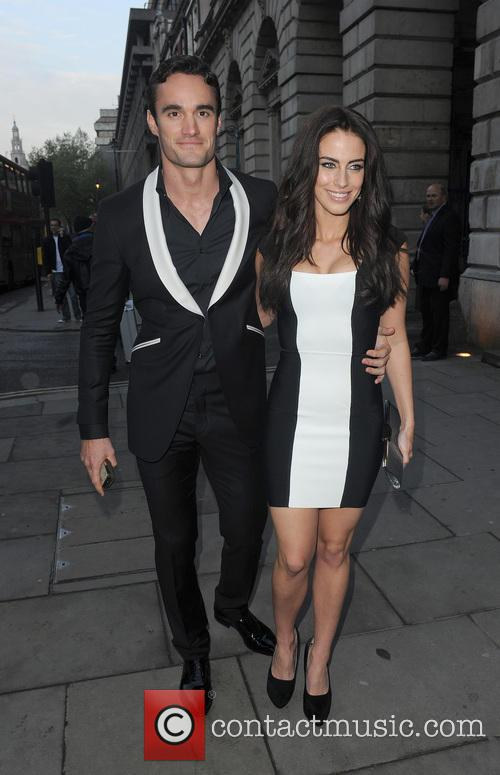 Jessica Lowndes and Thom Evans 16