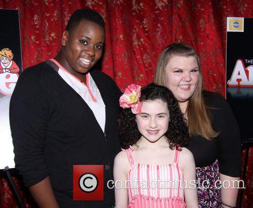 Fink, Alex Newell, Lilla Crawford and Jane Lynch 4