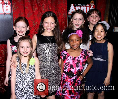 Jane Lynch's 'Annie' Broadway opening night after party