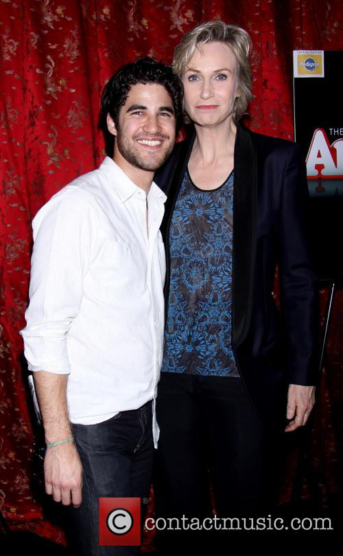 Darren Criss and Jane Lynch 3