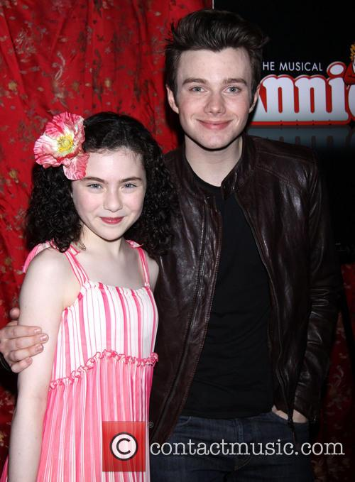 Lilla Crawford and Chris Colfer 3