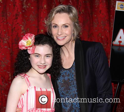 Lilla Crawford and Jane Lynch 5