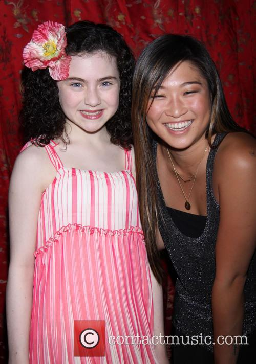 Lilla Crawford and Jenna Ushkowitz 4