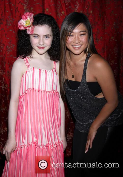 Lilla Crawford and Jenna Ushkowitz 1