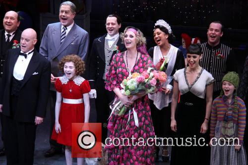 Anthony Warlow, Lilla Crawford, Sunny, Jane Lynch and Brynn O'malley 5
