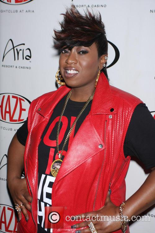 Missy Elliot performs at Haze Nightclub inside Aria...