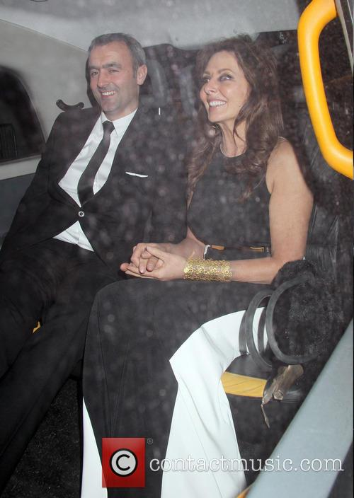 Carol Vorderman and Graham Duff 4