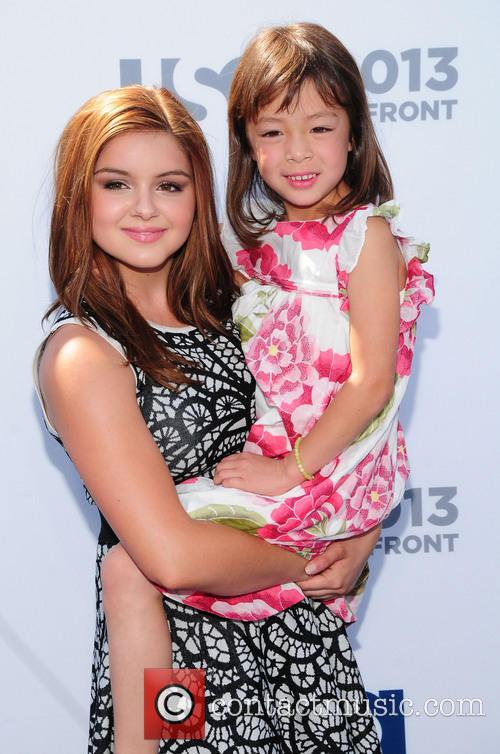 Aubrey Anderson-emmons and Ariel Winter 1