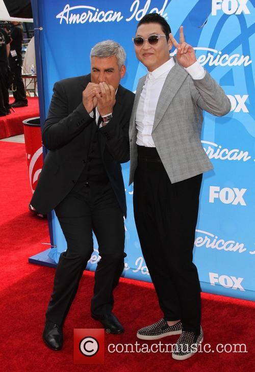 Taylor Hicks and Psy 11