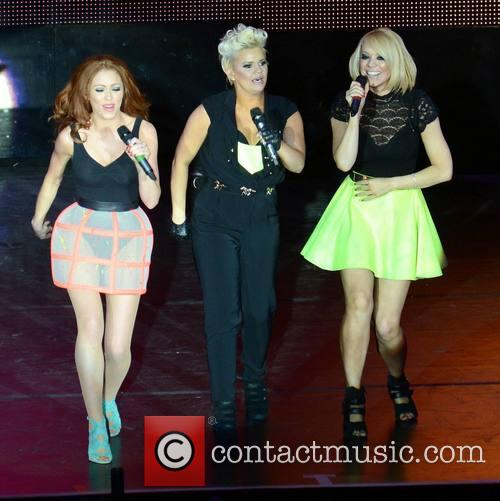 Natasha Hamilton, Kerry Katona and Liz Mcclarnon (atomic Kitten) 1