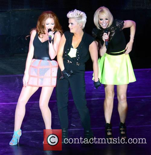 Natasha Hamilton, Kerry Katona and Liz Mcclarnon (atomic Kitten) 3