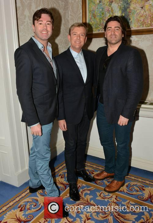 Karl Broderick, Alan Hughes and Brian Kennedy