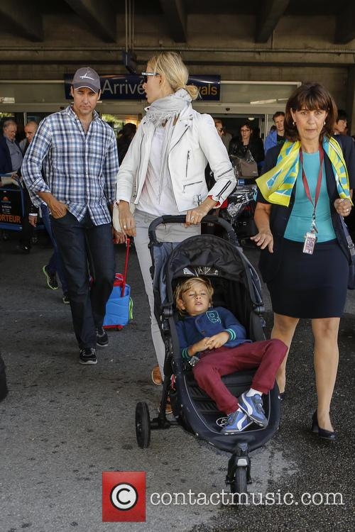 Celebs arriving at Nice Airport